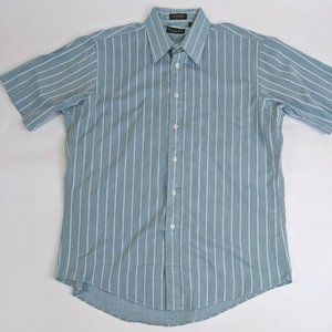 Christian Dior Short Sleeve Button Front Shirt